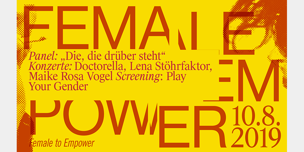 Tickets Play Your Gender & Talk- und Liveprogramm, Panel, Konzerte, Screening in Berlin